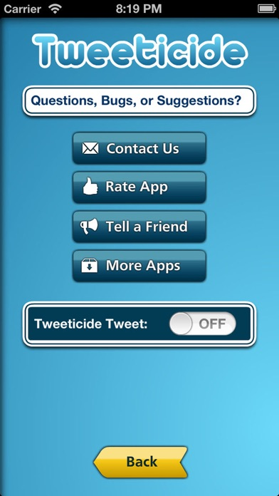 Tweeticide - Delete A... screenshot1