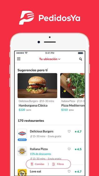 PedidosYa - Food Delivery screenshot-4