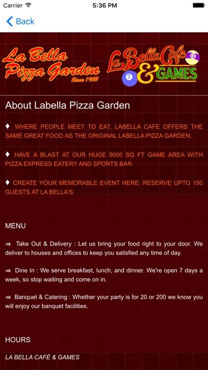 La Bella Pizza Garden By 411eat