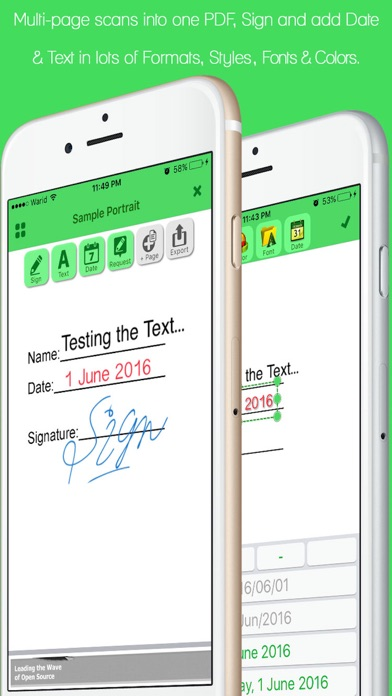 Screenshot #3 pour JustSign - PDFs and Documents