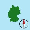 Deutsche Grid Ref Kompass
