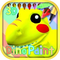 Dinosaur Coloring 3D - AR Cam