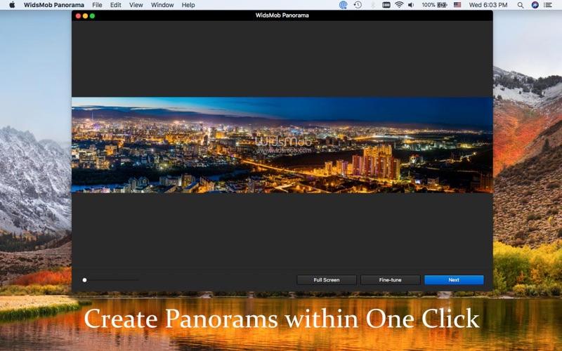 WidsMob Panorama-Photo Stitch screenshot 4