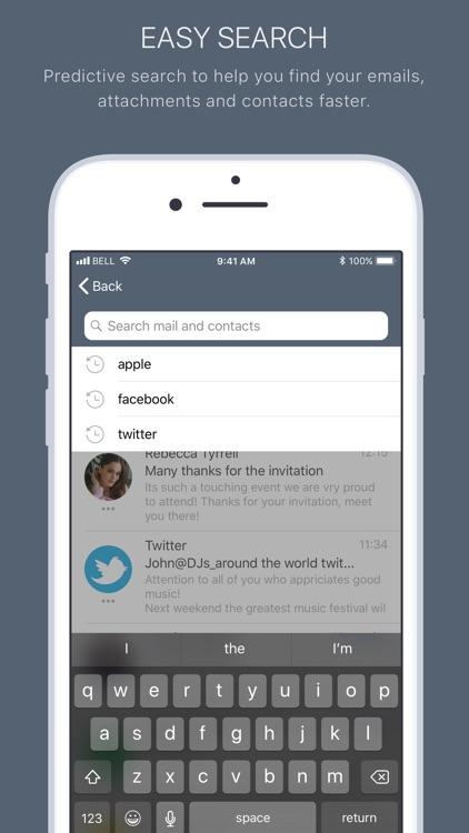 Mail2World screenshot-4