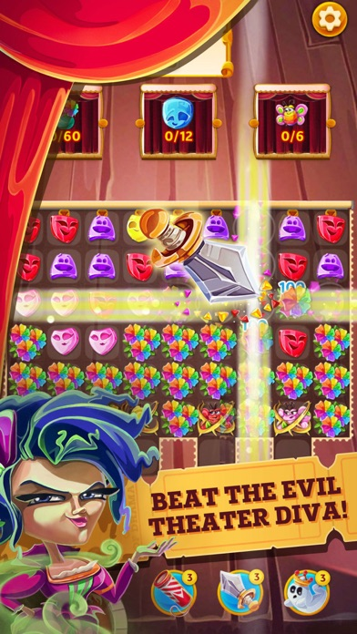 Queen of Drama: Matching game screenshot two