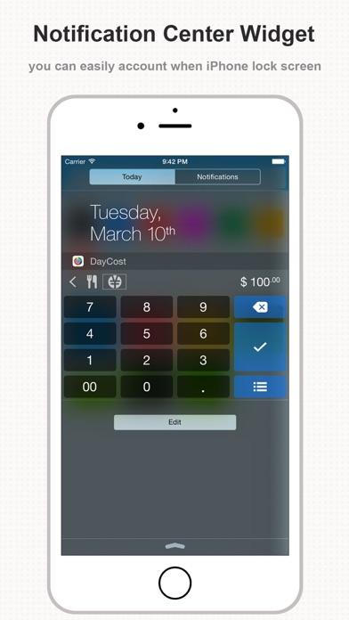 DayCost Pro - Personal Finance Screenshots