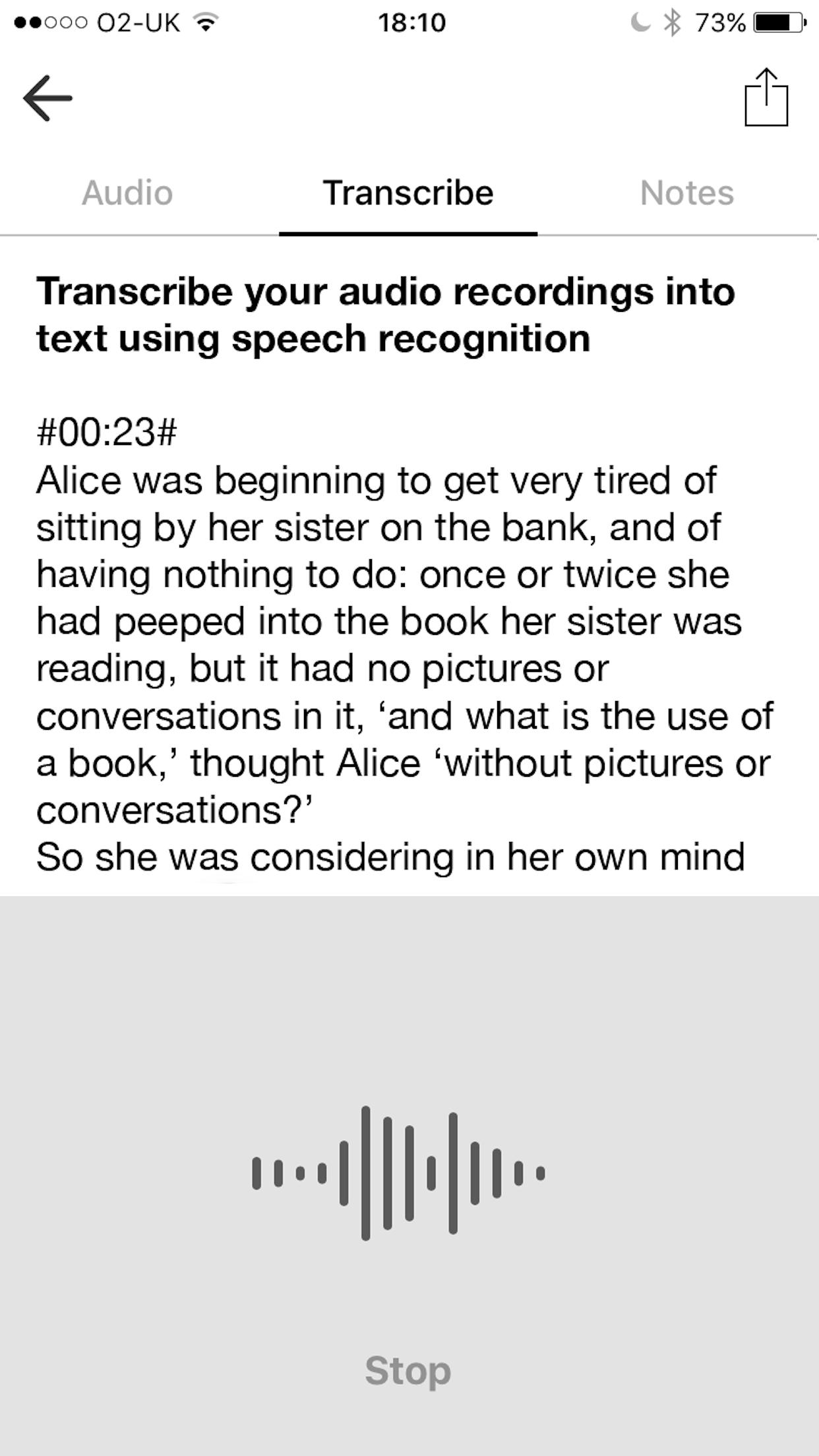 Voice Recorder & Audio Editor Screenshot