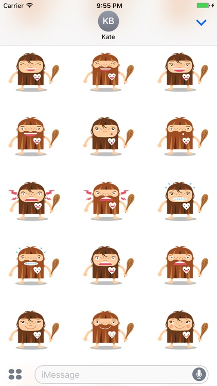 Emoticon Cave - Stickers