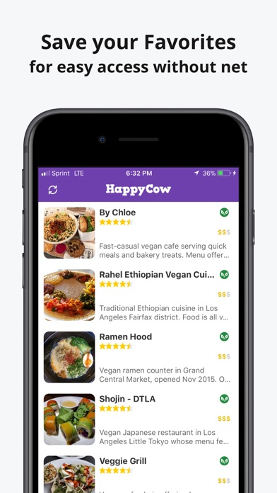 HappyCow Find Vegan Food for Windows