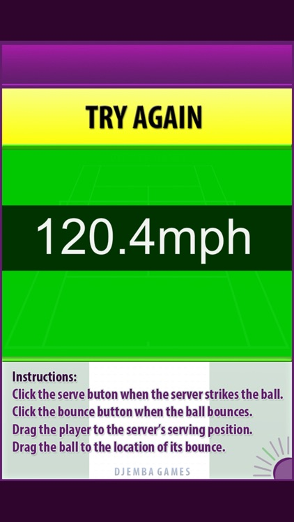 Tennis Serve Speed