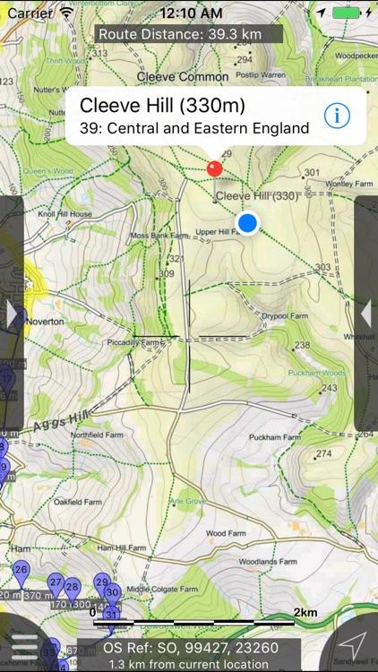 Cotswolds Maps Offline screenshot-4