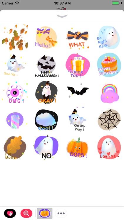 Halloween! Animated Stickers