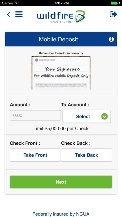 Wildfire Mobile Banking screenshot-3