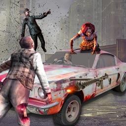 Zombie Car Smash Killed