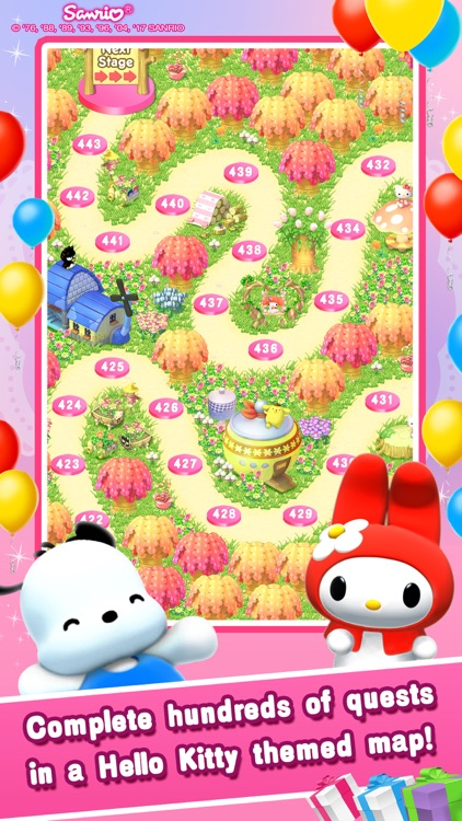 Hello Kitty Jewel Town! screenshot-3