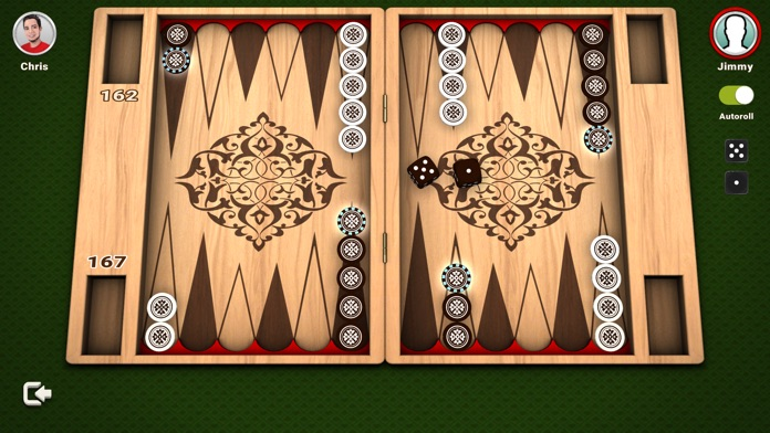 Backgammon - The Board Game Screenshot