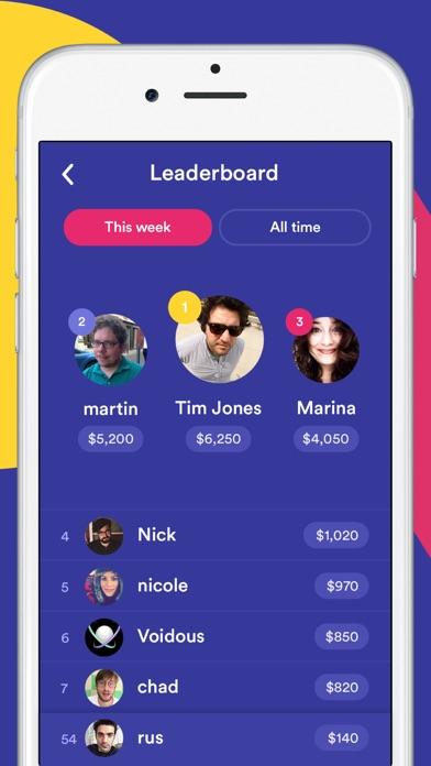 Screenshot of HQ - Live Trivia Game Show App