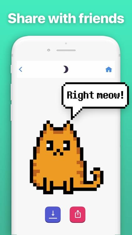 Pixel Cat - Color by Number screenshot-3