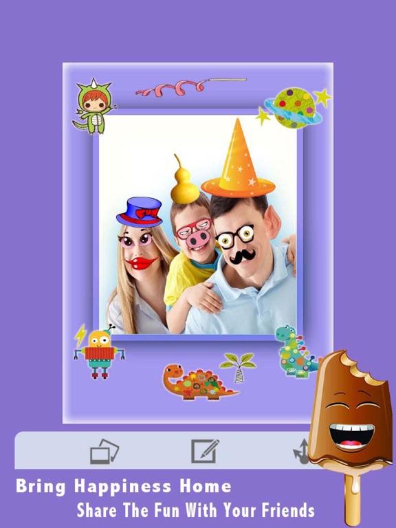 Screenshot #4 pour Autocollants drôles Caméra HD