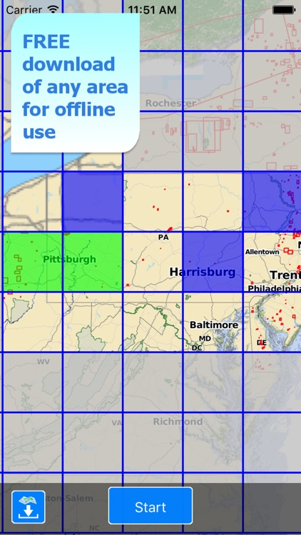 Aqua Map Pennsylvania Lakes HD screenshot-5