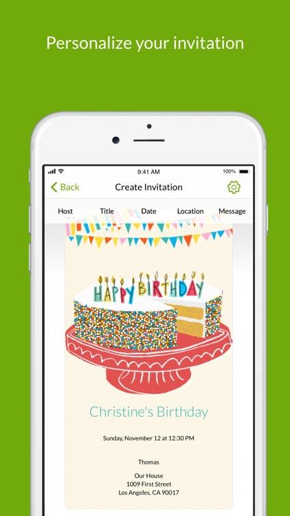 Evite: Online Invitations screenshot-3