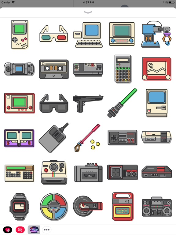 Retro 80s Gadgets screenshot 4