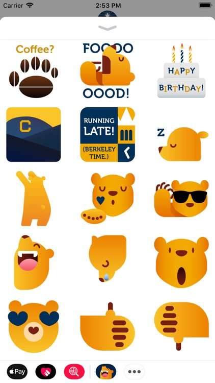 Cal Bears Stickers screenshot-3