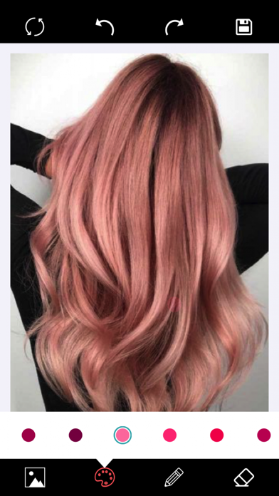 Hair - Color Changer screenshot one