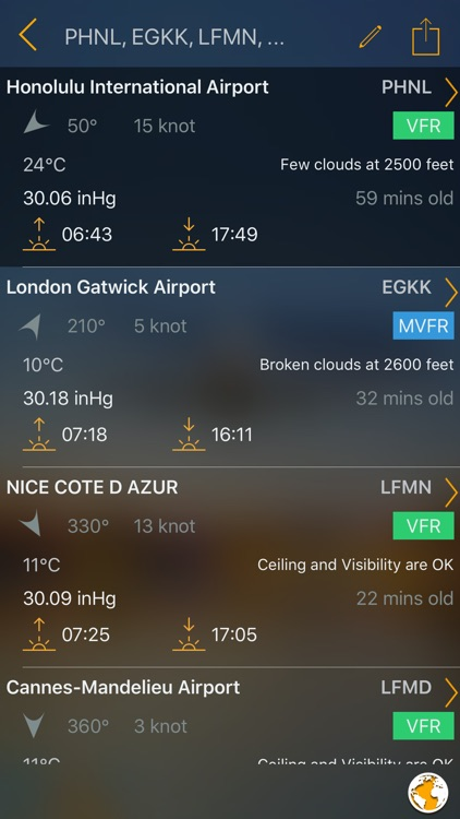 Aviation Weather Group Manager screenshot-1