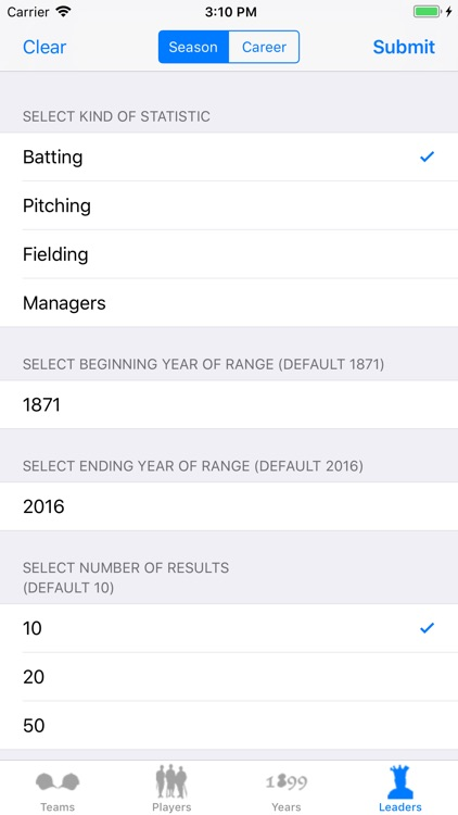 Baseball Stats 2018 Edition screenshot-3