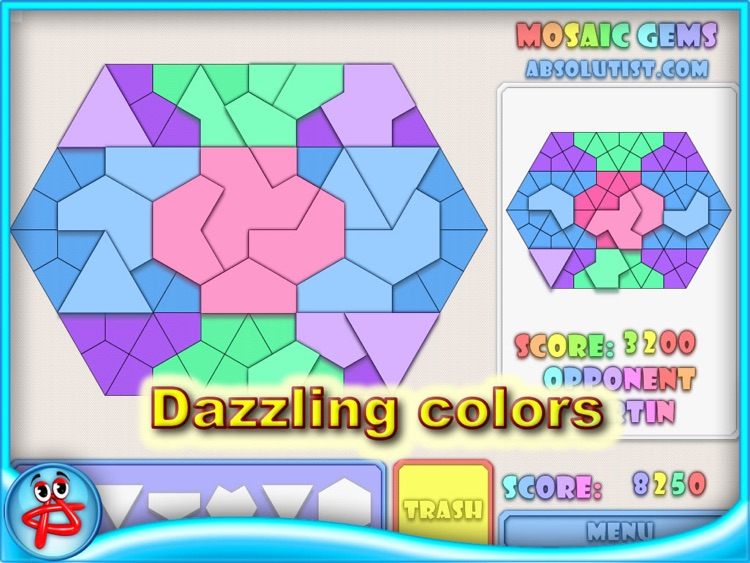 Mosaic Gems: Jigsaw Puzzle screenshot-3