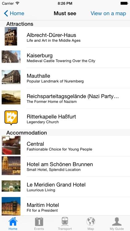 Nuremberg Travel Guide Offline screenshot-3