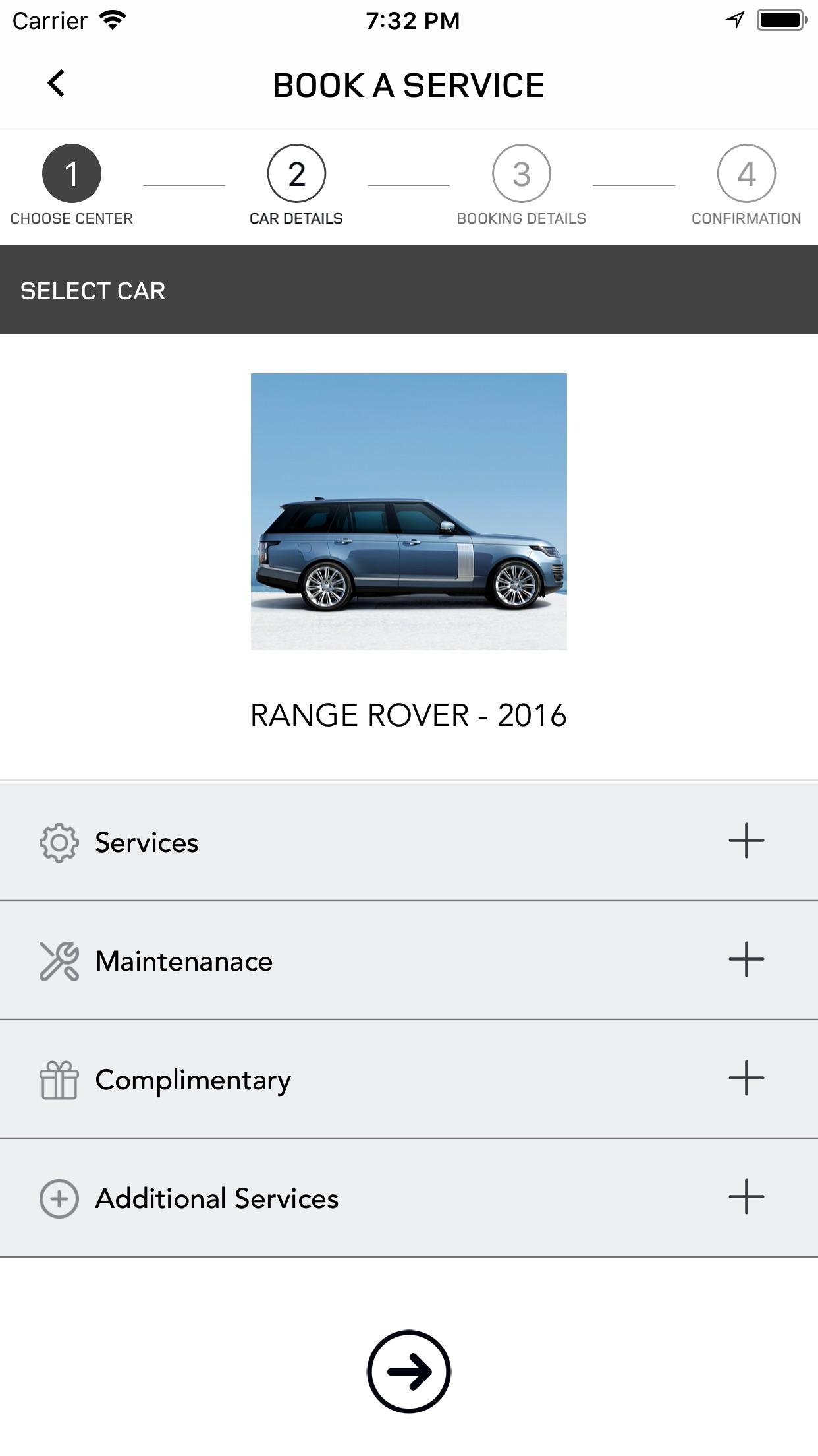 Land Rover Total Care MENA Screenshot