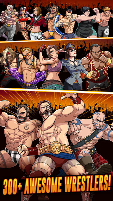 The Muscle Hustle: Wrestling Скриншоты4