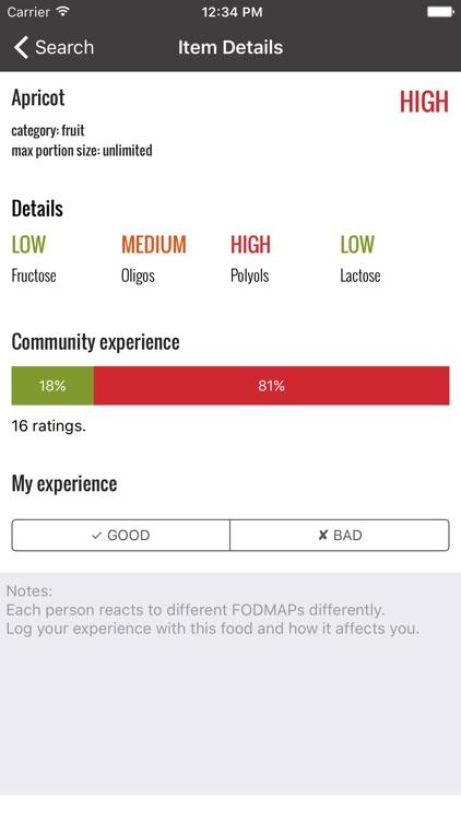 Fodmap Helper - Diet Companion screenshot-4