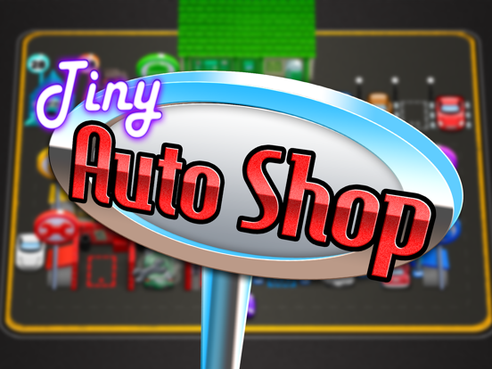 Tiny Auto Shop: Car Stop Baron-ipad-4