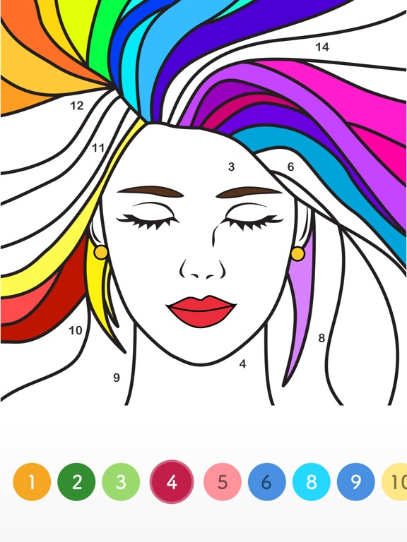 Paint.ly - Color by Number Art screenshot 11