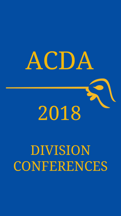 2018 ACDA Division Conferences screenshot 1