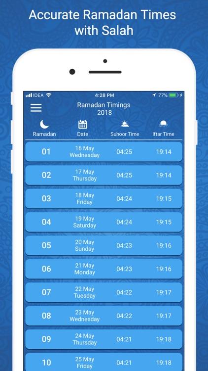 Ramadan Times 2018 PRO screenshot-3