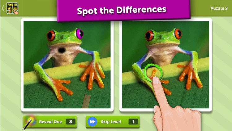 Guess the Difference? Spot It!