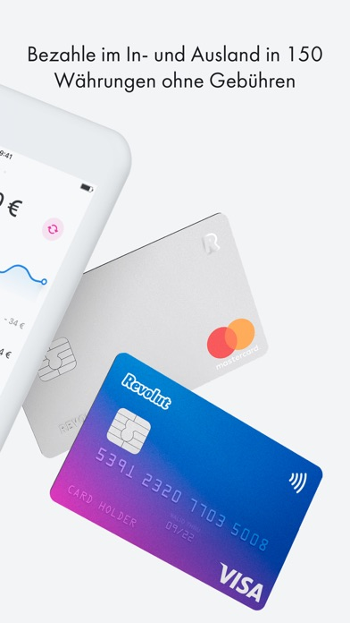 Screenshot for Revolut - Mobiles Girokonto in Austria App Store
