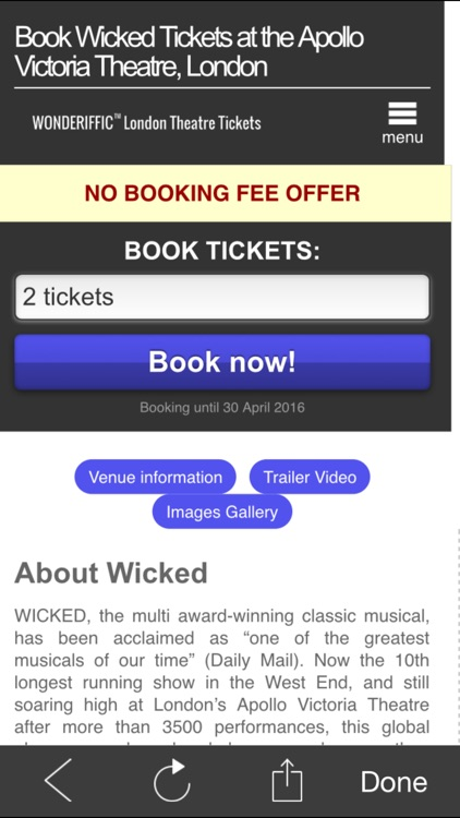 London Theatreland Tickets screenshot-4