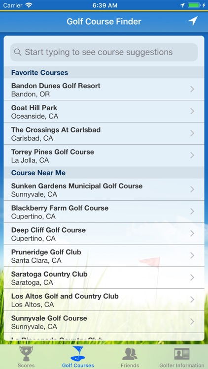 Diablo Golf Handicap Tracker screenshot-4