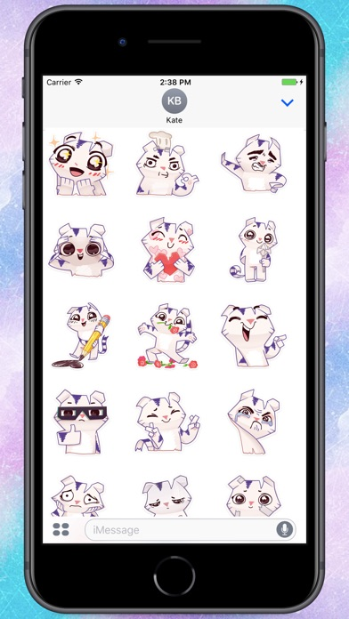 Screenshot for Paper Cat Stickers in Colombia App Store