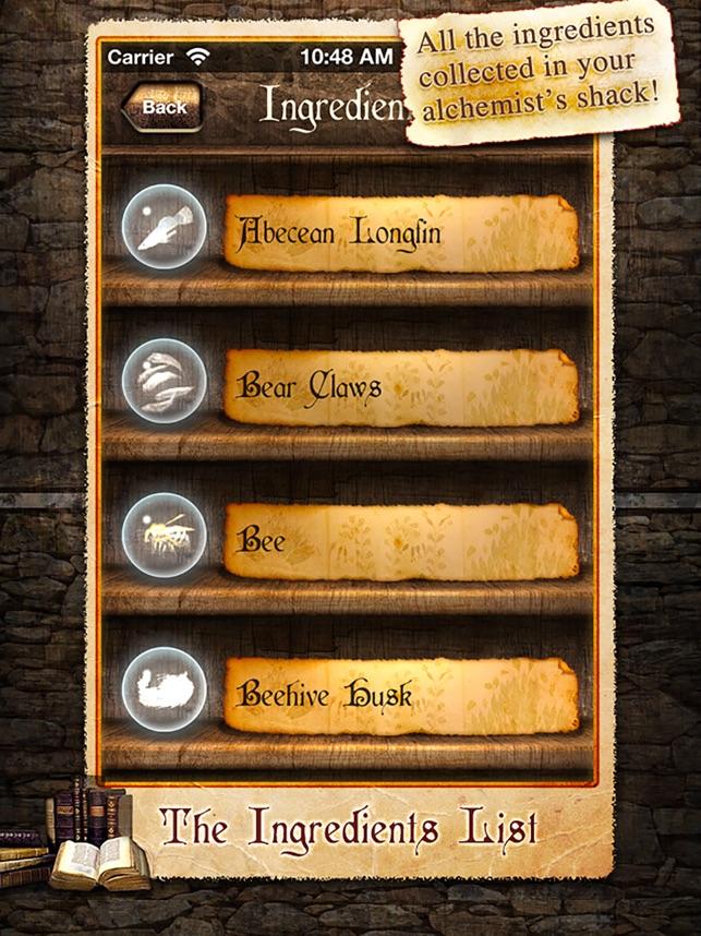 Alchemie Guide Skyrim im App Store