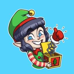 Christmas elf STiK