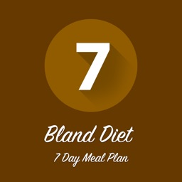 Bland Diet 7 Day Meal Plan