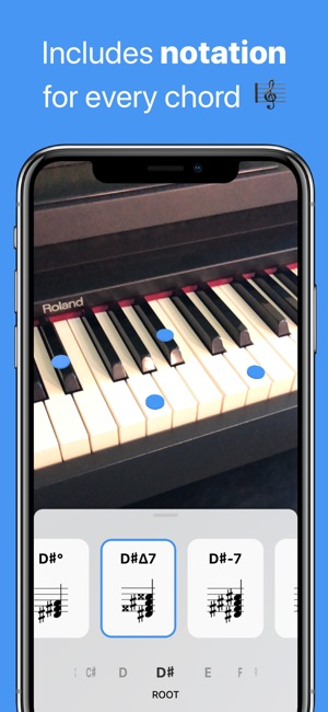 Tonic - AR Chord Dictionary Screenshot