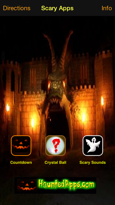 Scary Apps screenshot one