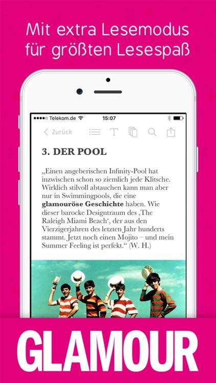 Glamour Magazin screenshot-3